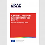 Women's participation in decision-making in Kosovo