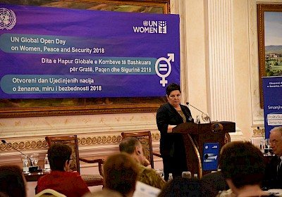 2018 United Nations Global Open Day on Women, Peace and Security in Kosovo.